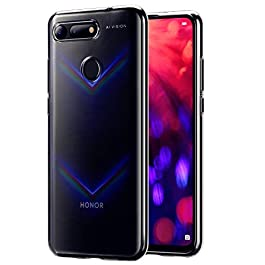 Wonanse Case for Honor View 20, Ultra-slim Luxury Scrub Shock Resistant Soft Gel TPU with [Scratch resistant] [Drop protection] Silicone Protective Case Cover for Huawei Honor View 20 – Clear