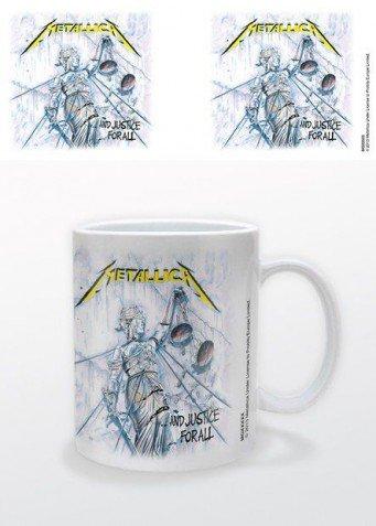 Metallica - And Justice For All Tazza Da Caffè Mug (9 x 8cm)