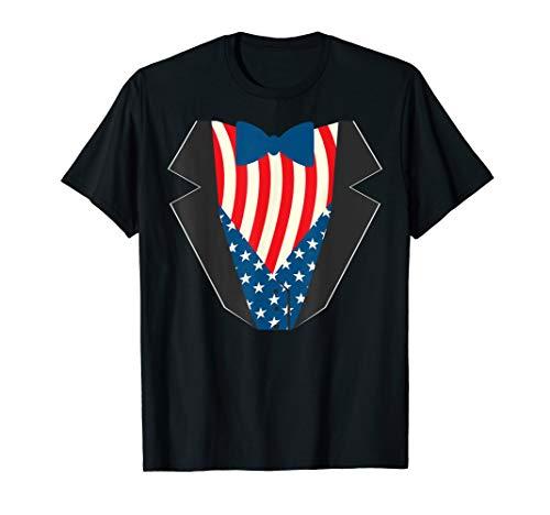 Uncle Sam Anzug Lustig Freiheit Flagge Patriotisches Kostüm - Uncle Sam Kostüm Kind