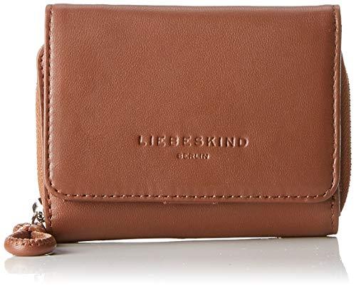 Liebeskind Berlin Damen Drawstring Pablita Wallet Medium Geldbörse, Braun (Toffee), 3.0x9.0x12.0 cm