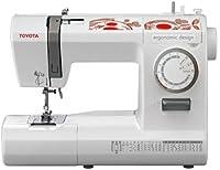 Toyota ECO26C - Máquina de coser 26 programas, color blanco / rojo de Toyota