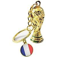 Mlec Tech 1PC 2018 Coupe du Monde de Football Porte-clés Trophy Pendentif Cadeaux Souvenir de Football Coupe du Monde de Football de 2018 Porte Clefs