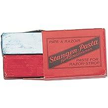 Nc 9501 - Juego de pasta para suavizador (2 piezas, roja para afilar y azul para pulir)