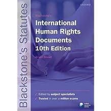 Blackstone's International Human Rights Documents (Blackstone's Statutes)