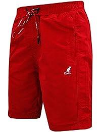 Nouveau Hommes Kangol concepteur de marque élastique Summer Swim Bermudes Casual Shorts