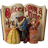 Beauty and the Beast Disney tradition [parallel import goods] Enesco wood carving-like storybook figure Jim Shore (japan import)
