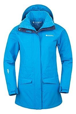 Mountain Warehouse Glacier Extreme Lange wasserdichte Damenjacke mantel allwetter