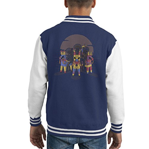 Sombrero Casual (Pinata Bandits Kid's Varsity Jacket)