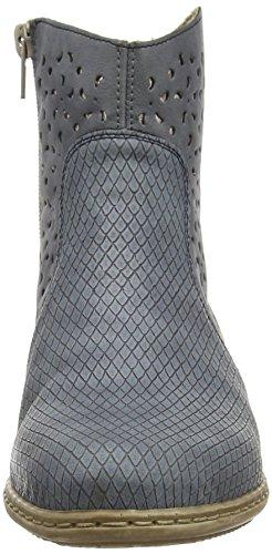 Rieker - Y0766, Stivaletti Donna Blu (azur/jeans / 12)