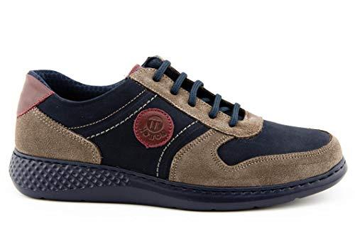 Zapatos DE Cordones Hombre - Hombre Color: Azul Talla: