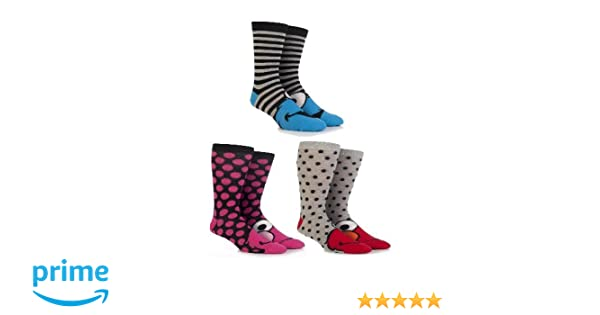 Kids 3 Pair SockShop Taz Socks Assorted 12.5-3.5