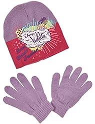 Ensemble bonnet et gants Fille
