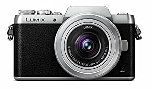 Panasonic Lumix DMC-GF7KEB-S Compact System Camera with 180 Degree Tiltable Monitor for Selfie (16 MP, Digital Live MOS Sensor)