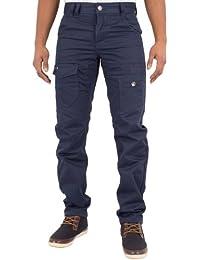 Designer hommes ETO jambe droite Twill Jeans- UK Tailles