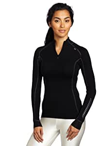 Helly Hansen Women's 48543_991-L Thermal Baselayer Top - Black, Large