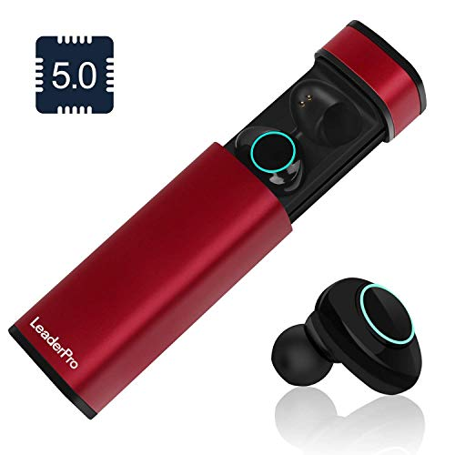 LeaderPro Auriculares In-Ear Mini Auriculares Bluetooth