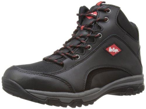 Lee Cooper Workwear S3 Water Resistant Leather Boot, Chaussures de sécurité Adulte Mixte - Noir (black), 44 EU