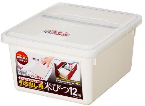 Tiroir pour le riz bin 12 kg W (japon importation)