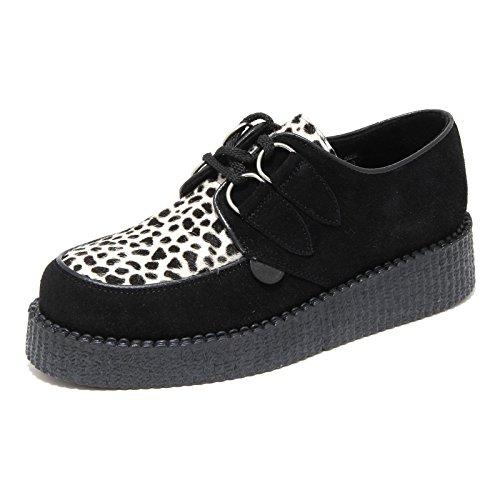 63953 scarpa allacciata donna UNDERGROUND leo sneaker donna shoes women [37]