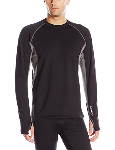 Timberland Pro Männer Skims Mantel Thermal Top, Jet Black, X-Large Timberland Pro Thermal