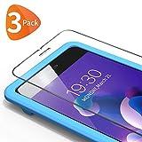 Bewahly Verre Trempé iPhone 8 Plus / 7 Plus [3 pièces], Film Protection en Verre trempé Écran Protecteur Vitre Dureté 9H [Kit d'installation Offert] pour iPhone 8 Plus / 7 Plus / 6S Plus / 6 Plus