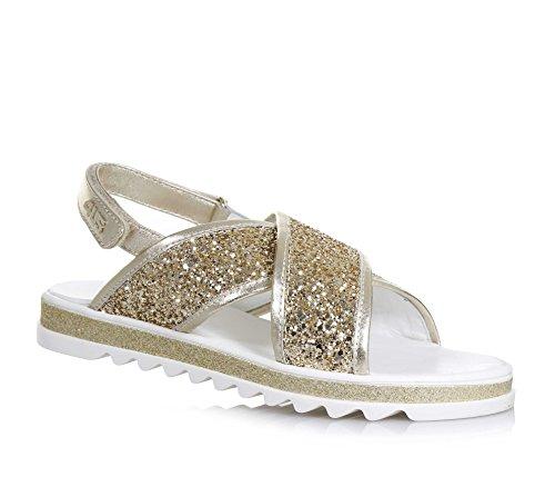 4us-cesare-paciotti-sandale-doree-en-cuir-et-glitter-avec-fermeture-en-velcro-bandes-frontales-crois