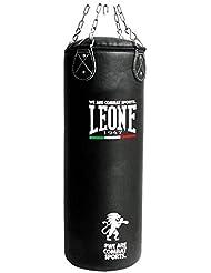 Leone 1947 Basic Sacco Allenamento, Nero, 30 kg