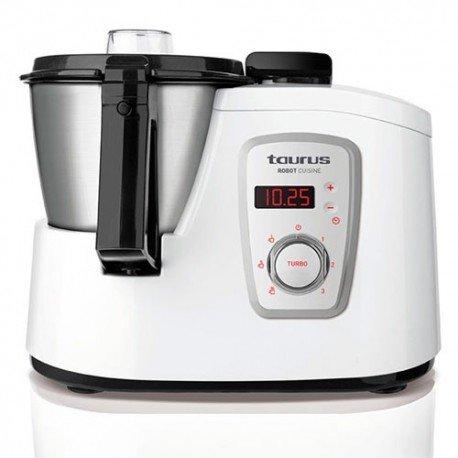 Taurus Robot Cuisine - Robot 925008 de cocina multifunción, color blanco width=