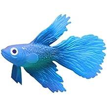 fish Imitación de alto diseño poco peces de colores artificiales, especial para los ornamentos de