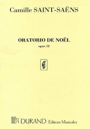 Oratorio de Noël Op.12 - Cht/Po