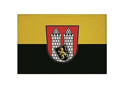 (U24 Aufnäher Hof Fahne Flagge Aufbügler Patch 9 x 6 cm)