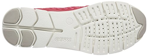 Geox - D Sukie A, Sneaker da donna Rot (CORALC7008)