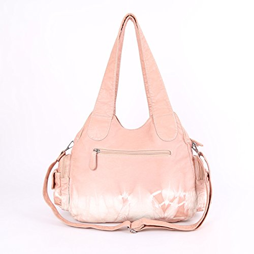Angelkiss, Borsa a spalla donna 13.8*4.7*13 rose