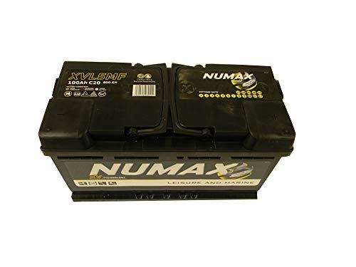 Numax CXV31MF Sealed Leisure Batteria 12V 110Ah 1000MCA 500 Cycles XV31MF
