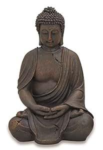 Décoration représentant Bouddha assis 40 cm