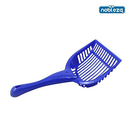 nobleza-020621-pala-para-limpiar-la-arena-de-gato-color-azul-medidas-28cm-x-14-cm-x-3-cm
