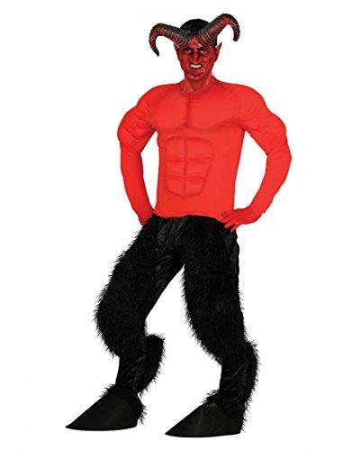 Diabolo Teufel Kostüm für Herren One (Kostüme Piraten Muskel)