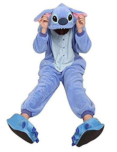 763973cfb08 Global Unisex Adult Onesies Animal Cosplay Costume Halloween Xmas Pajamas  (M for Height(61