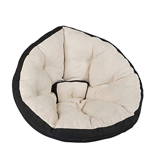 Pkfinrd Sitzsack Stühle Erwachsene Faule Schlafsofa Personalisierte Outdoor Lounge Geeignet for Spielzeug Lagerung Erwachsene Spiel Stuhl (Farbe: Grün) (Color : White)