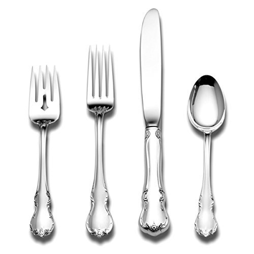 Towle French Provincial Sterling Silver 4-Piece Flatware Set by Towle -