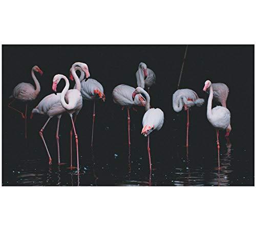 Mucert Eine Gruppe des Tieres Der Weißen Flamingos 1000 Puzzleteile Aus Holz Home Office Schlafzimmer Dekoration Geburtstagsüberraschung Wandkunst