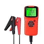 VISLONE Car Battery Tester, Car Battery Charger Tester Analyzer, 12V 2000CCA Battery Voltage Test Ci