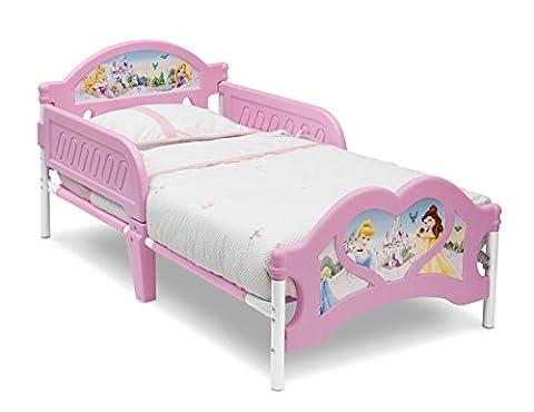 Delta Children Lit pour Enfants Princesse avec Pied de Lit en (Letto Disney)