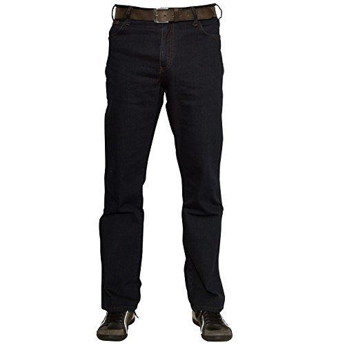 Wrangler Herren Texas Jeans, Blau-Schwarz, 38W / 36L -