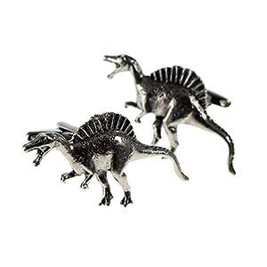 Ashton and Finch Spinosaurus Zinn Manschettenknöpfe