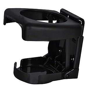 Vheelocityin 70127 Black Foldable Car Drink Holder