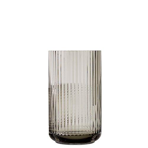 Lyngby Porcelæn 201107lyngby Vase, Flower Vase, Glass Vase, Smoke (H: 25cm)