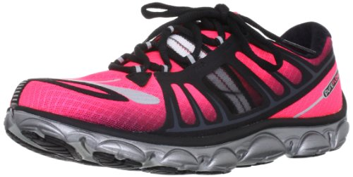 Browar Timing Systems - Sneaker PureFlow2, Donna, rosa (Pink/Black/Silver/White), 44 (9.5 UK)