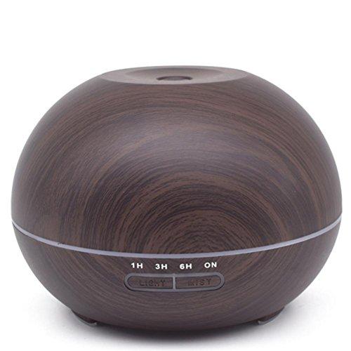 CFZHANG Donut Befeuchter USB Wooden Duft Mechanische Mute Luftreinigung Home