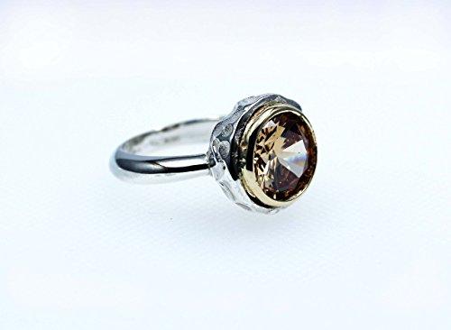 anello-argento-collection-pepita-silver-sterling-925-castone-dorato-e-quartz-color-champagne-natural